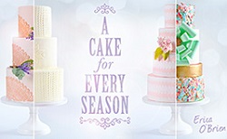 wedding cakes for the seasons class by Erica O'Brien on Craftsy