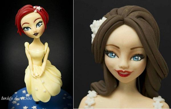 gumpaste figure models by Bambola di Zucchero