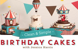 Clean & Simple Birthday Cakes, with Jessica Harrison Craftsy