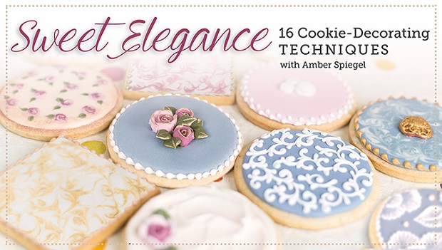 Cookie Decorating 16 Techniques with Amber Spiegel on Craftsy