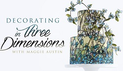 Decorating in 3 Dimensions with Maggie Austin on Craftsy