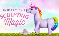 Sculpting Magic Unicorn Cake Class with Kaysie Lackey on Craftsy