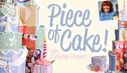 whimsical cake design class with Colette Peters on Craftsy