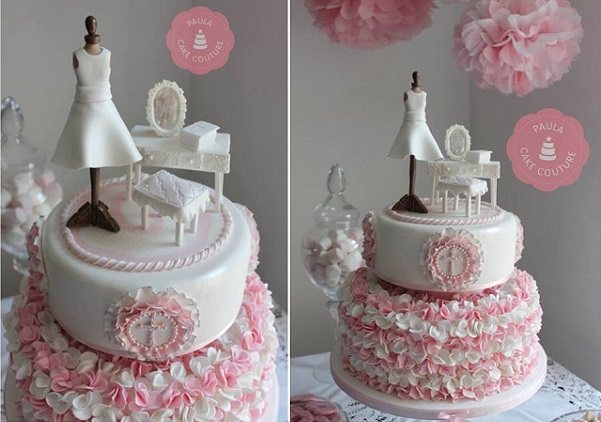Dress Communion Cake