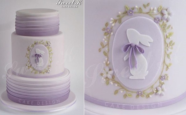 easter cake by Sweet K Design