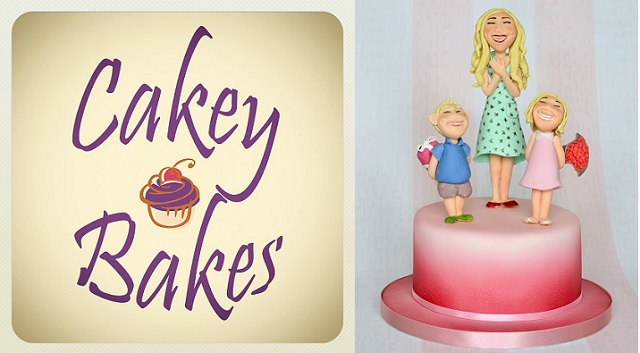figure modelling tutorial Mother's Day cake tutorial by Laura Dodimead of Cakey Bakes for Cake Geek Magazine