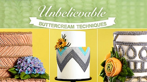 Buttercream Piping Techniques with Christina Ong & Valerie Valeriano