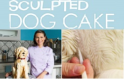 sculpted dog cake tutorial by Elisa Strauss on Craftsy