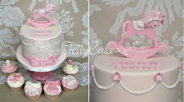 rocking horse cake by Jelly Cake UK