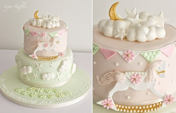 rocking horse cake by Sugar Ruffles