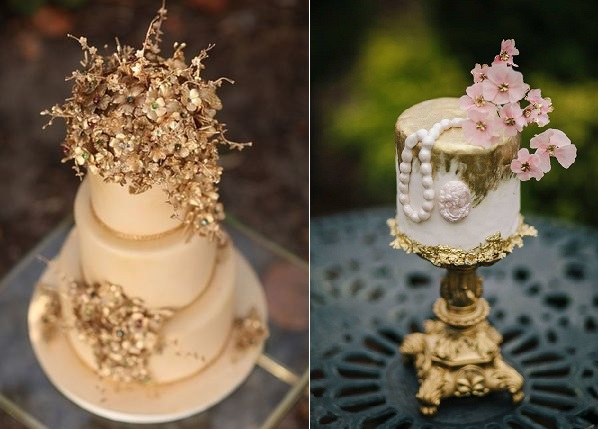 Jewelled Sugar Flowers, Part 2 – Glamorous Gold