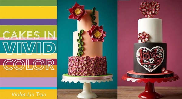 quilled cake tutorials with Violet Lin Tran on Craftsy