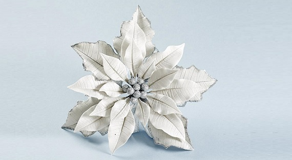 jewelled poinsettia tutorial by Nicholas Lodge on Craftsy