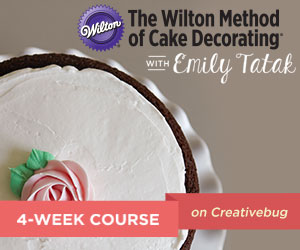 Learn the Wilton Method of Cake Decorating Online with Creative Bug