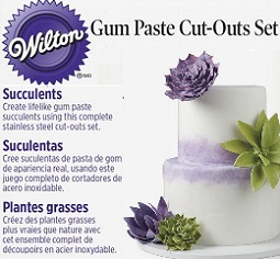 succulent cutters from Wilton