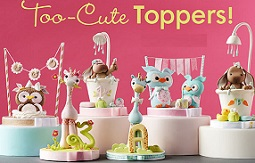 Brenda Walton animal cake topper tutorials on Craftsy