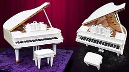 piano cake tutorial 3D grand piano cake from Yener's Way