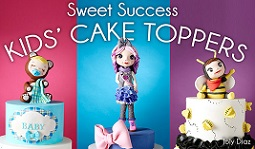 kids cake topper tutorials with Joly Diaz on Craftsy