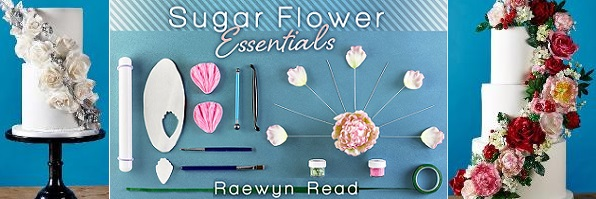 Sugar Flowers Tutorial with Raewyn Read