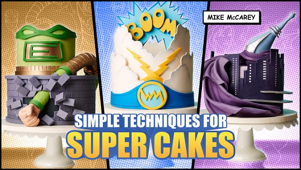 Superhero Cake Tutorials by Mike McCarey