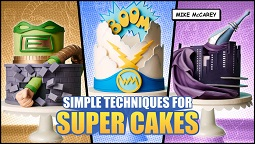 Superhero cake tutorials with Mike McCarey on Craftsy