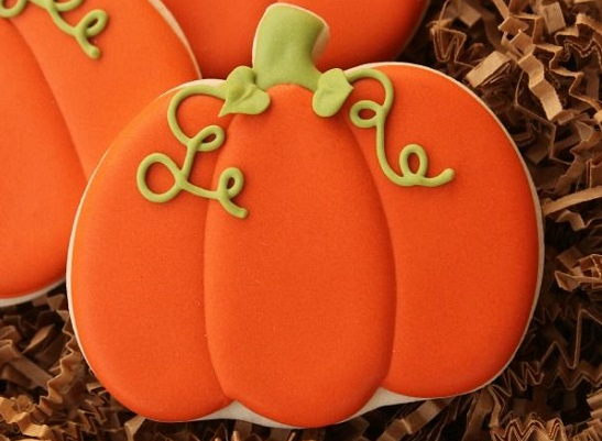 Sweet Sugarbelle pumpkin cookies tutorial