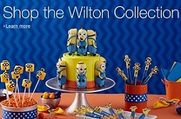 Minions cake decorating supplies from Wilton