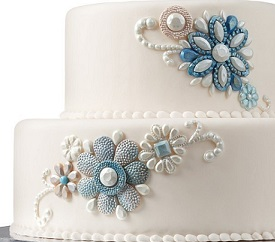jewelled cake mold by Wilton