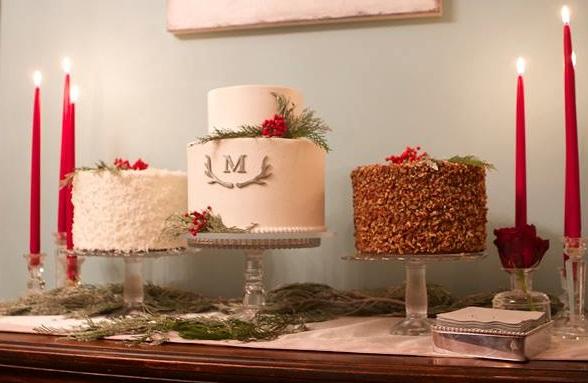 winter wedding cake winter woodland wedding cake christmas wedding by The Pastry Studio