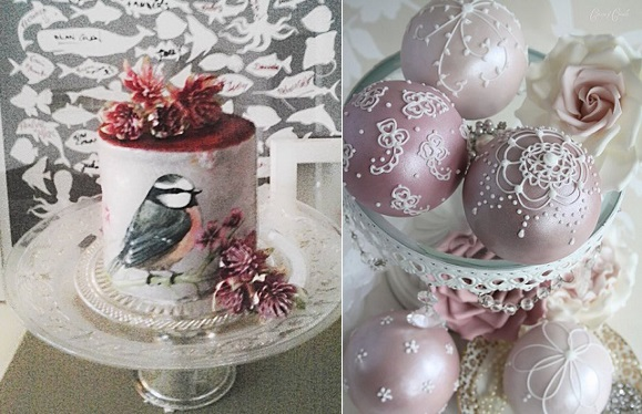 Christmas Cakes: Beautiful Designs - Cake Geek Magazine
