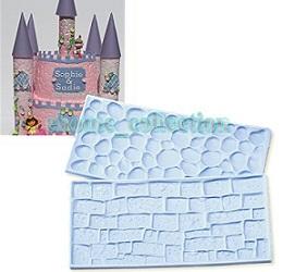 cobblestone and brick impression mat