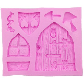 fairy door mold and castle door mold
