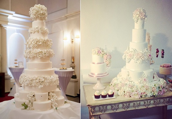 Floral & Formal Wedding Cakes