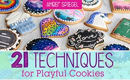 21 Techniques for Playful Cookies with Amber Spiegel on Craftsy