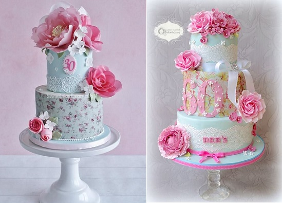 Pretty Birthday Cakes