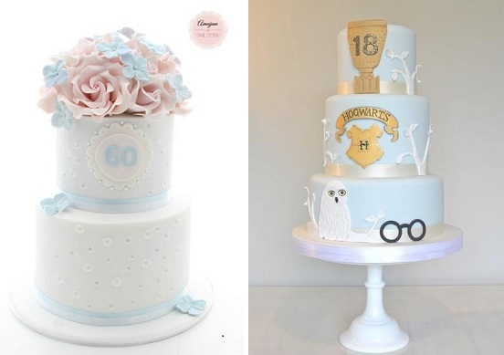 60th Birthday Cake By Aimeejane Design Left 18th Harry Potter Via