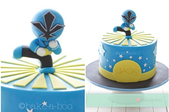 Power Ranger cake by Bake-A-Boo New Zealand