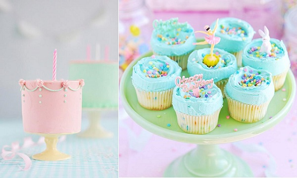 Vanilla Cake and Funfetti Cupcakes by Sweetapolita