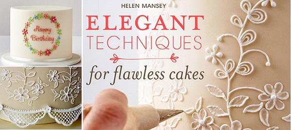 writing in icing tutorial piping letters with Helen Mansey