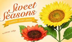 gumpaste sunflower tutorial with Nicholas Lodge on Craftsy
