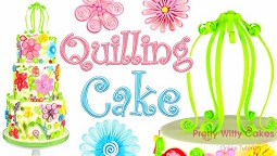 Quilled Cake Tutorial by Suzi Witt