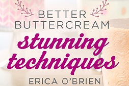 Stunning Buttercream Techniques tutorial with Erica O'Brien on Craftsy