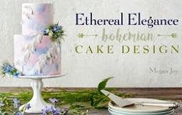 Boho Wedding Cake Tutorial by Megan Joy on Craftsy