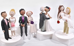 bride and groom cake topper tutorials on Yener's Way