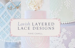 lace wedding cakes tutorial by Faye Cahill on Craftsy