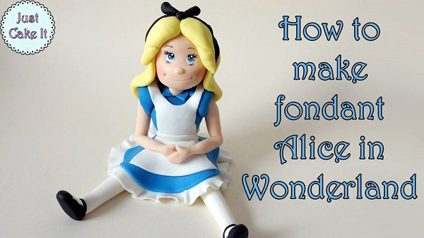 Alice in Wonderland gumpaste model tutorial
