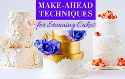 make ahead techniques including make ahead fondant frills tutorial on Craftsy