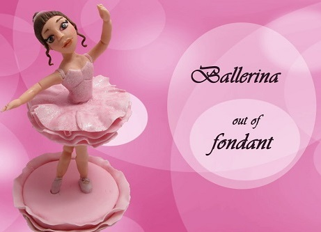 ballerina cake topper tutorial by Francesca SugarArt