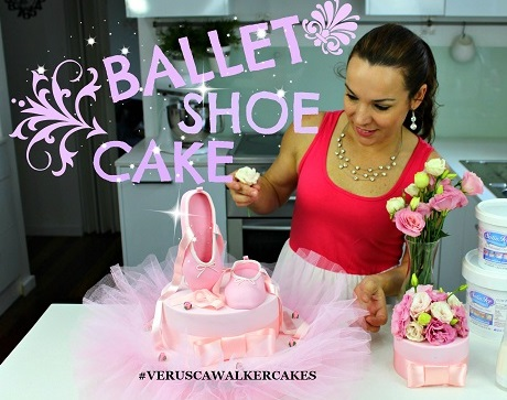 ballet cake tutorial by Verusca Walker