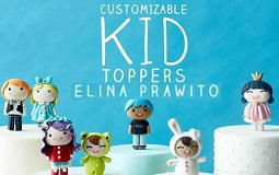 Cake Toppers for Children's Cakes with Elina Prawito on Craftsy